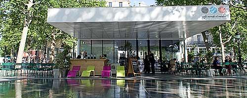 Café da Praça da Republica em Paris
