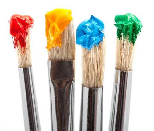 Artigos para belas artes