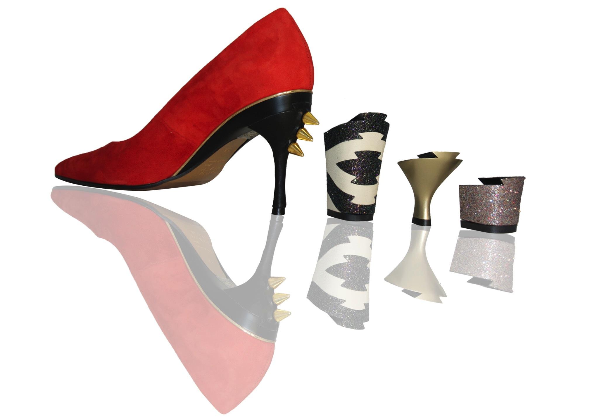 e591eb147 Os sapatos que trocam o salto   Conexão Paris
