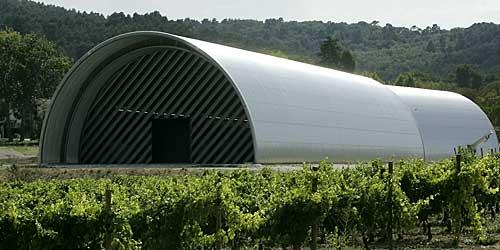 Chai, onde os vinhos são envelhecidos
