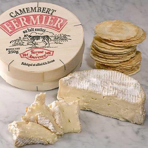 Camembert leite cru