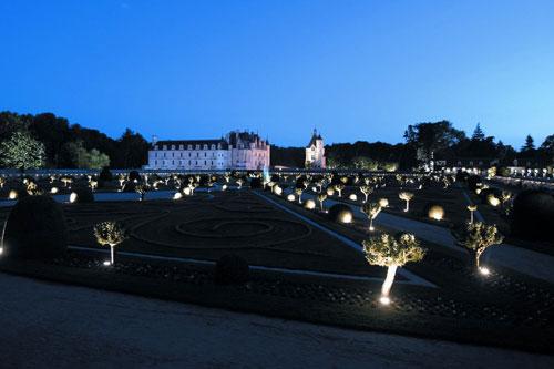 Castelo de Chenonceau, passeios noturnos