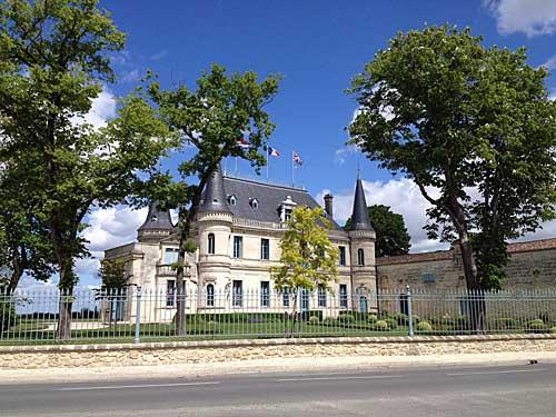 Rota dos castelos de Bordeaux