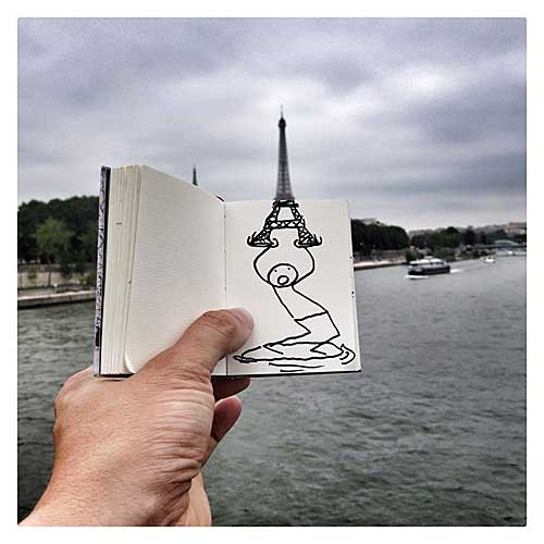 Elfix e a torre Eiffel