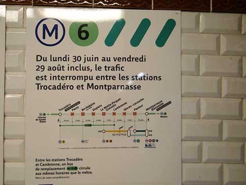 Linha 6 do Metrô de Paris