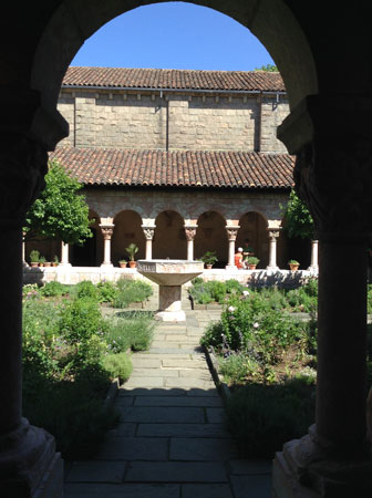 Os jardins do The Cloisters