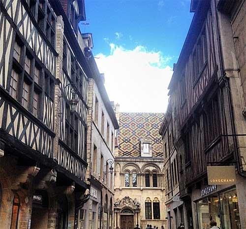 Centro medieval de Dijon