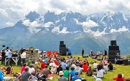 Festival Jazz Chamonix