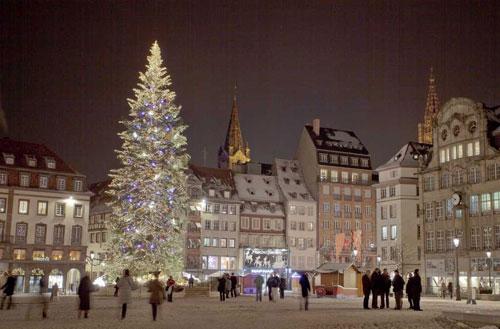 Strasbourg no inverno