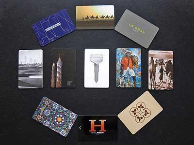 Key cards de hotéis