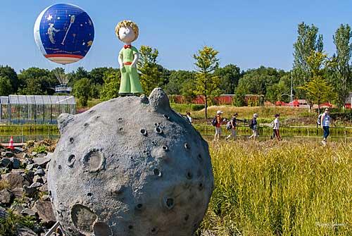 Petit Prince e seu asteroide B612