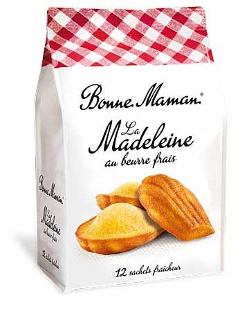 Bolinhos madeleines