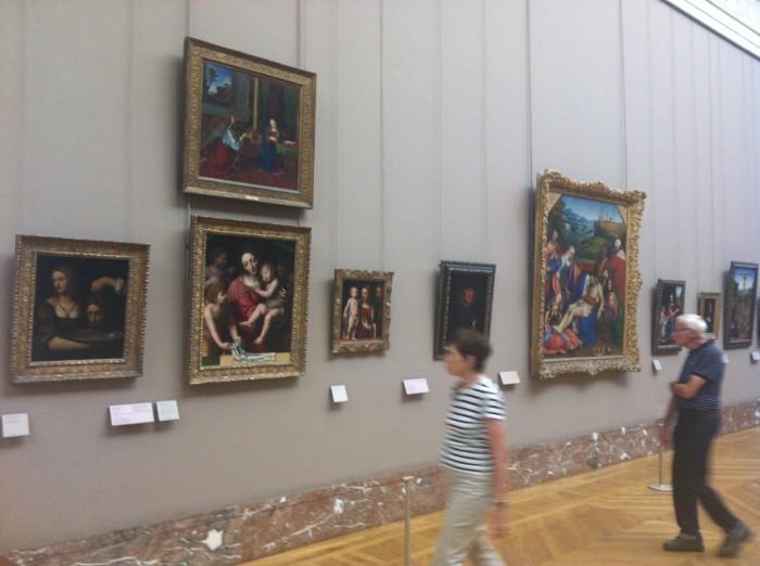 Dos 15 quadros pintados por Leonardo da Vinci, 7 estão museu do Louvre.