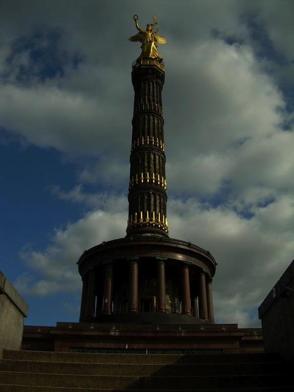 O Obelisco da Vitória, em Berlim