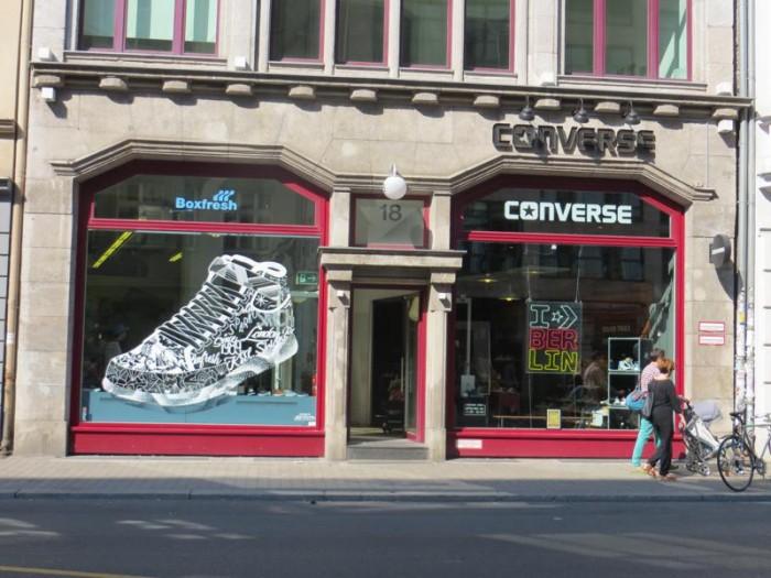 Loja da Converse no bairro Mitte, em Berlim
