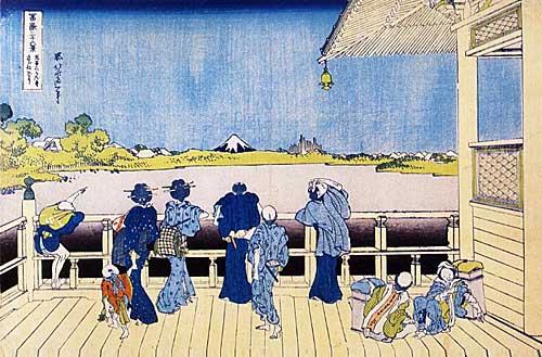 Desenho de Katsushika Hokusai
