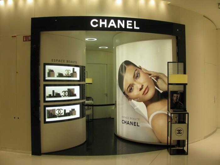 Espaço de Beleza da Chanel