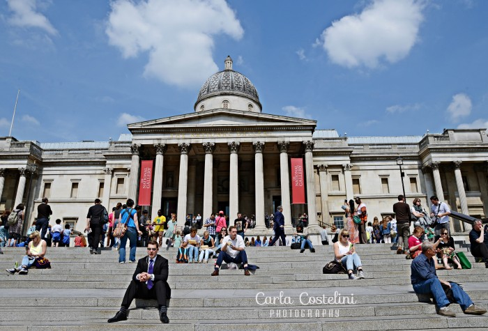 A National Gallery, em Londres