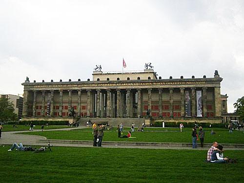 Altes Museum, na Ilha dos Museus, em Berlim