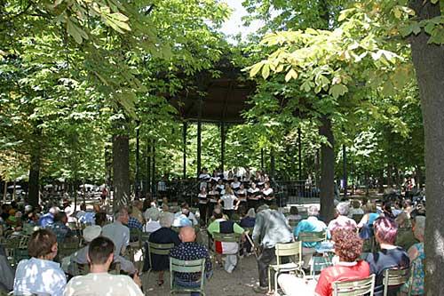 Kiosque de Música do Jardin du Luxembourg