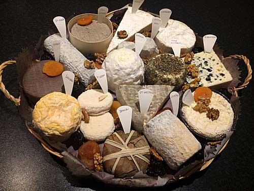 Plateau de queijos> Perfeito.