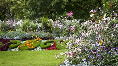 Versailles na primavera/verão