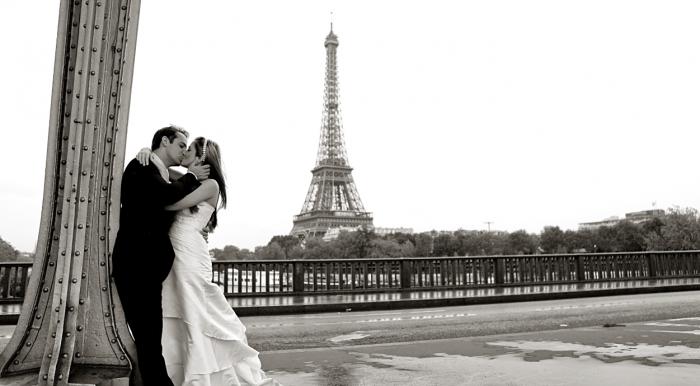 Foto de noivos brasileiros em Paris, por Fabiana Maruno