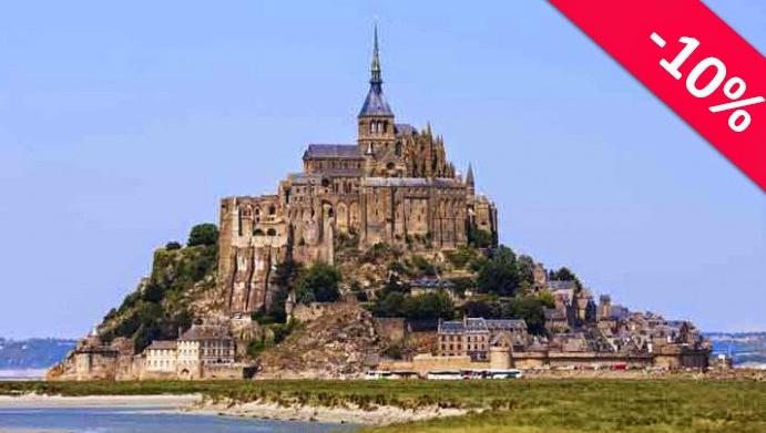 ParisVision oferece 10% de desconto para os leitores do Conexão Paris nas visitas guiadas ao Monte Saint Michel