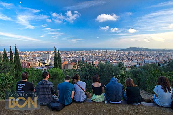 Barcelona vista do Park Güell