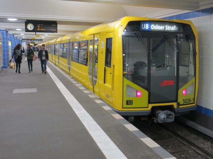 O metrô berlinense