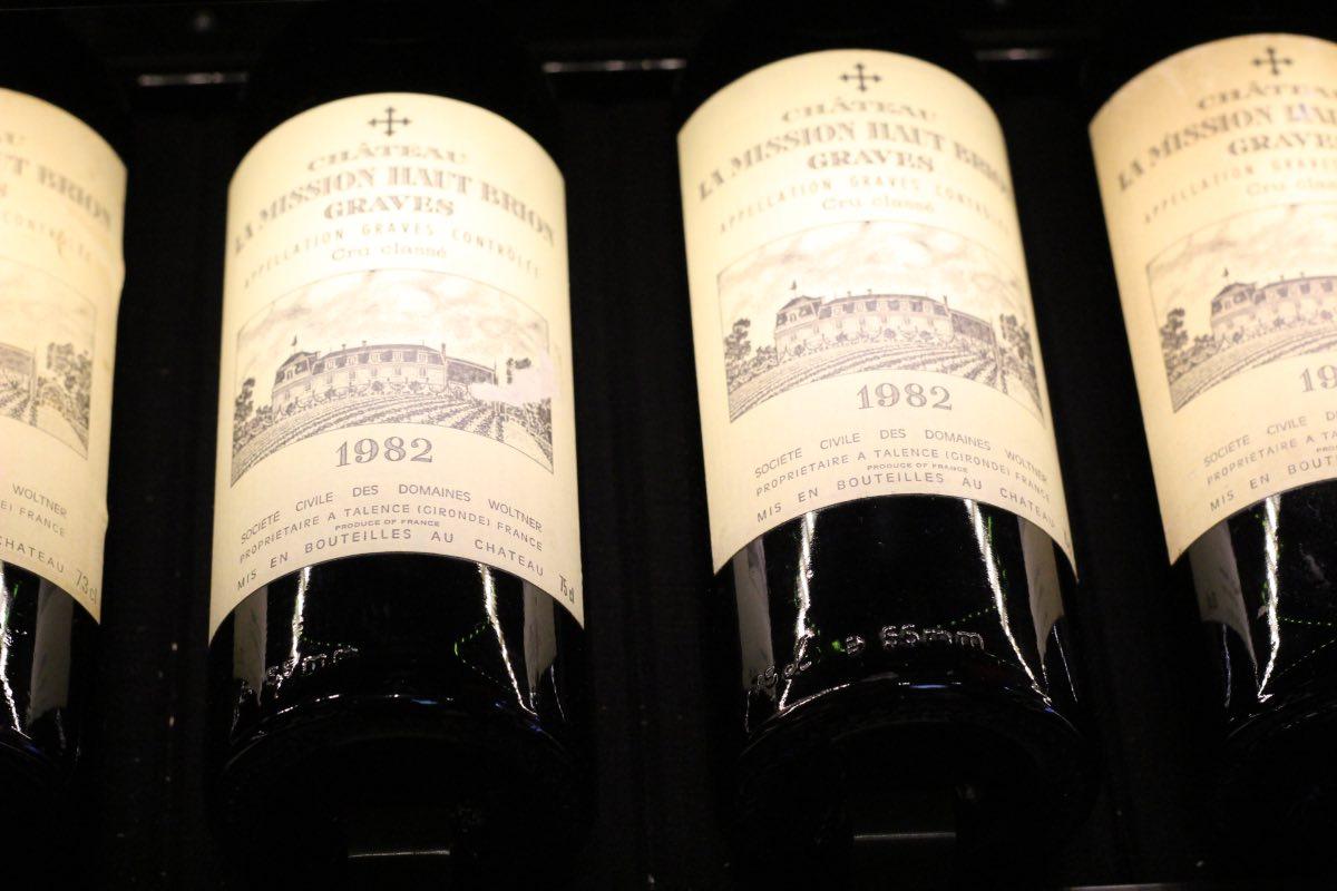 vinho La Mission Haut Brion