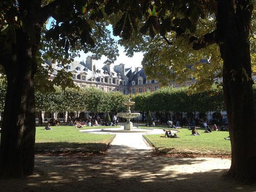 Place des Vosges no Marais