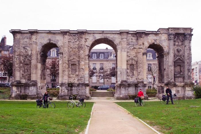 O centro de Reims