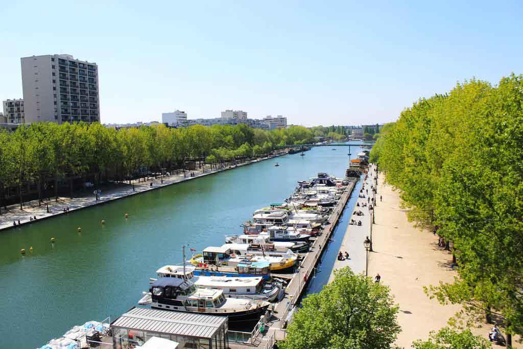 hostel em paris canal