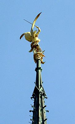 Mont Saint Michel, arcanjo