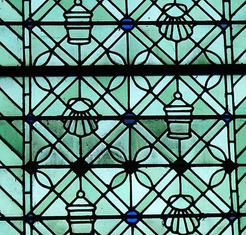 Mont Saint Michel, vitrais