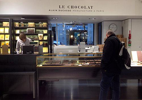 Chocolates Alain Ducasse na Lafayette Gourmet