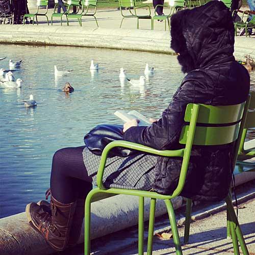 As famosas cadeiras verdes