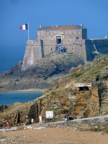 Saint Malo, Fortaleza Petit Bé, Bretanha