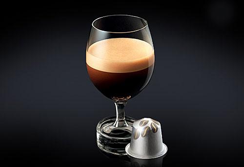 Taça Riedel, Café Nespresso