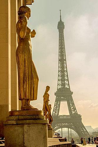Torre Eiffel. Créditos Bruno Silva