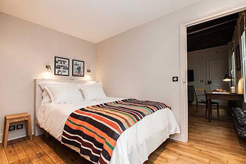 Apartamento em Paris quarto e sala