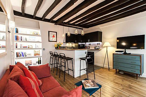 apartamento paris, Marais