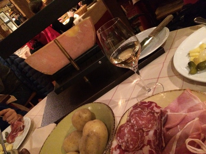 Raclette, prato típico da região