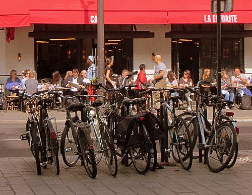 Franceses, bicicletas