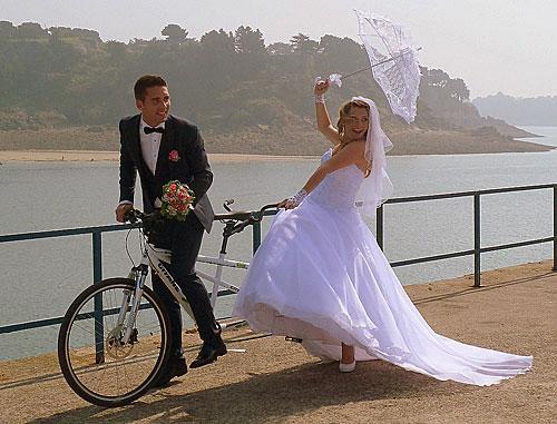 Franceses e bicicletas