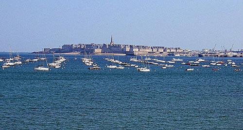 Dinart, vista de Saint Malo