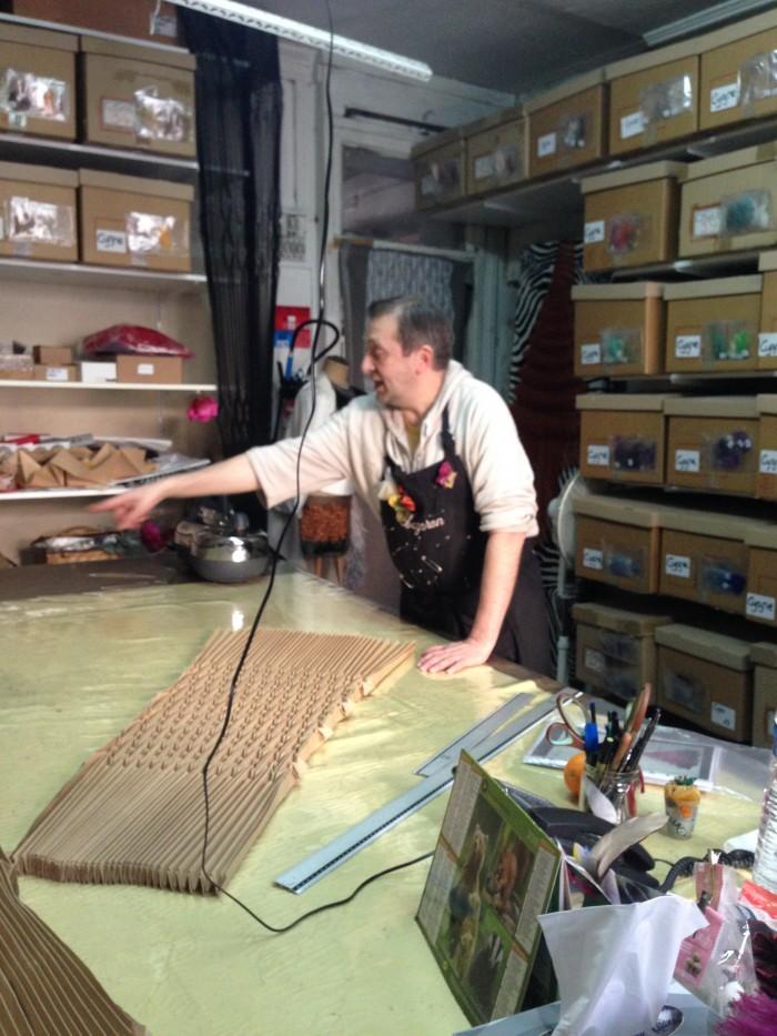 Visita ao ateliê que produz os famosos tweeds