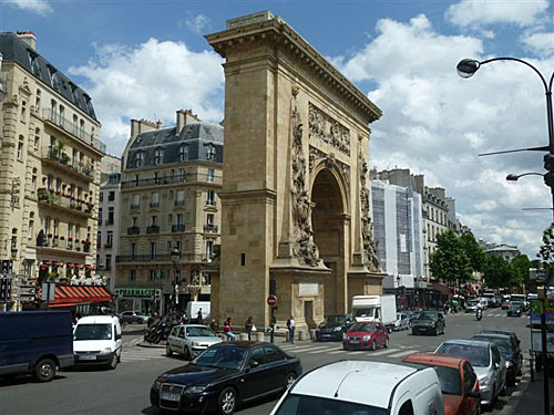 Porte Saint Denis. Foto:Sérgio T.Gonçalves