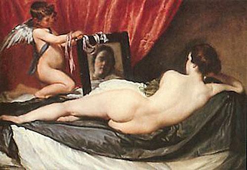 Velasques, Venus au miroir